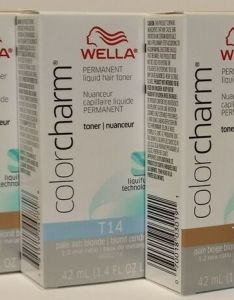Details about wella color charm permanent hair toner      oz also rh ebay