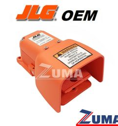 details about jlg part 4360031 new oem jlg foot switch used in jlg 0272970 assembly [ 1000 x 1000 Pixel ]