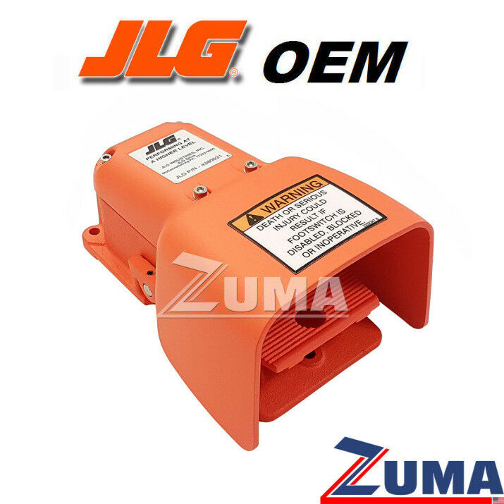 medium resolution of details about jlg part 4360031 new oem jlg foot switch used in jlg 0272970 assembly