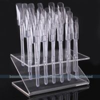Clear Makeup Display Stand Case Cosmetic Organizer Acrylic ...