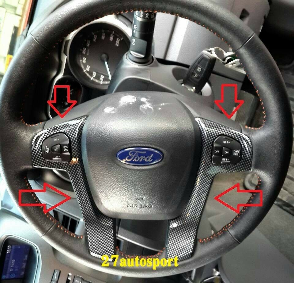 1988 ford f150 wiring diagram taotao 50cc scooter steering wheel cover in kevlar carbon color for ranger t6 2012 13 14 | ebay