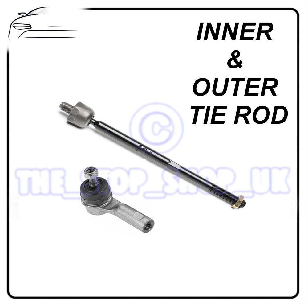 MG MG ZR & Rover 200, 400 & 25 Inner & Outer Tie Rod End