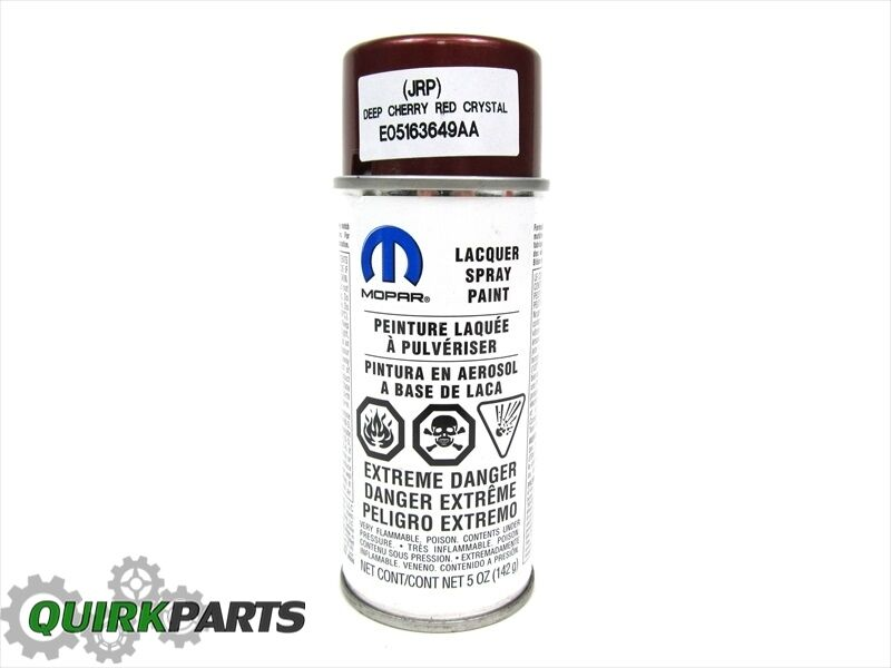 Jeep Dodge Chrysler Ram PRP DEEP CHERRY RED AEROSOL TOUCH