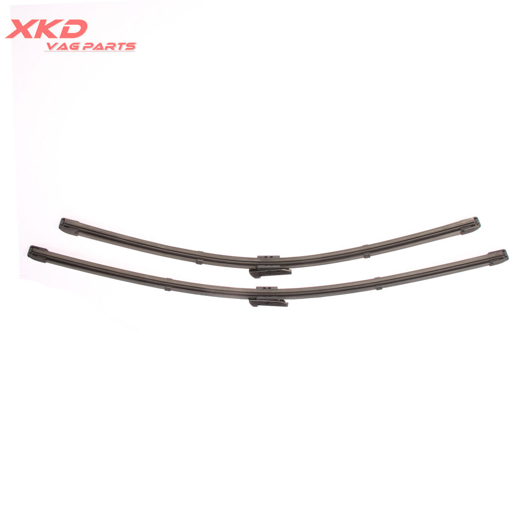 2Pcs Front Windshield Wiper Blade For AUDI A5 RS5 A4 S4 B8