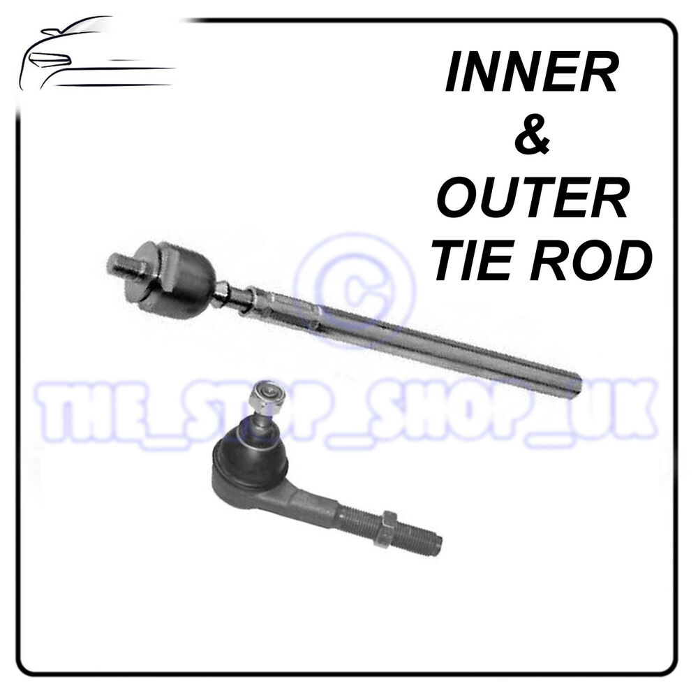 Peugeot 206 & 206+ 98-09 RIGHT Inner & Outer Tie Rod End