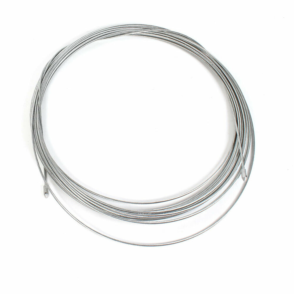 20M 66Ft 3mm Dia Steel Flexible Fish Tape Electric Wire