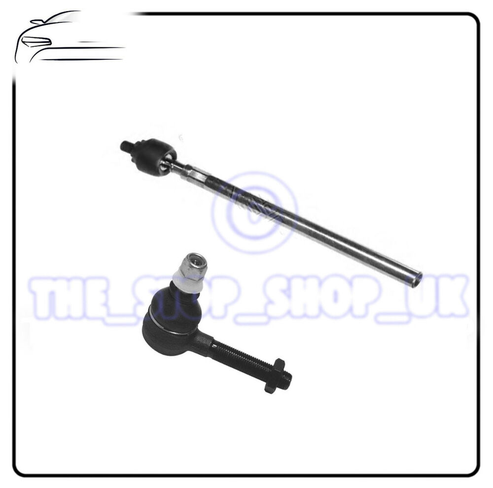 Right Inner & Outer Tie Track Rod End Steering For Renault