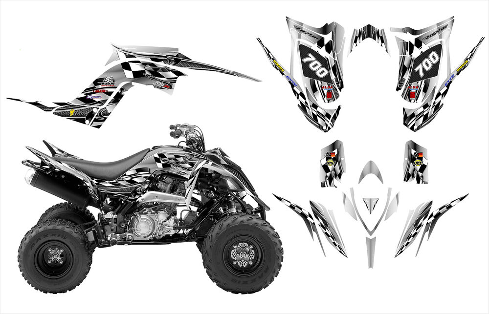 Yamaha Raptor 700 700R graphics 2013 2014 2015 custom deco