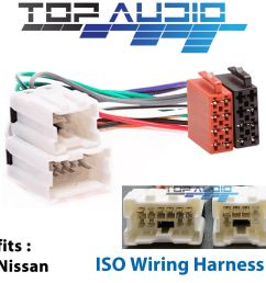details about fit nissan pathfinder skyline 350z 300zx iso wiring harness adaptor connector [ 1000 x 1000 Pixel ]
