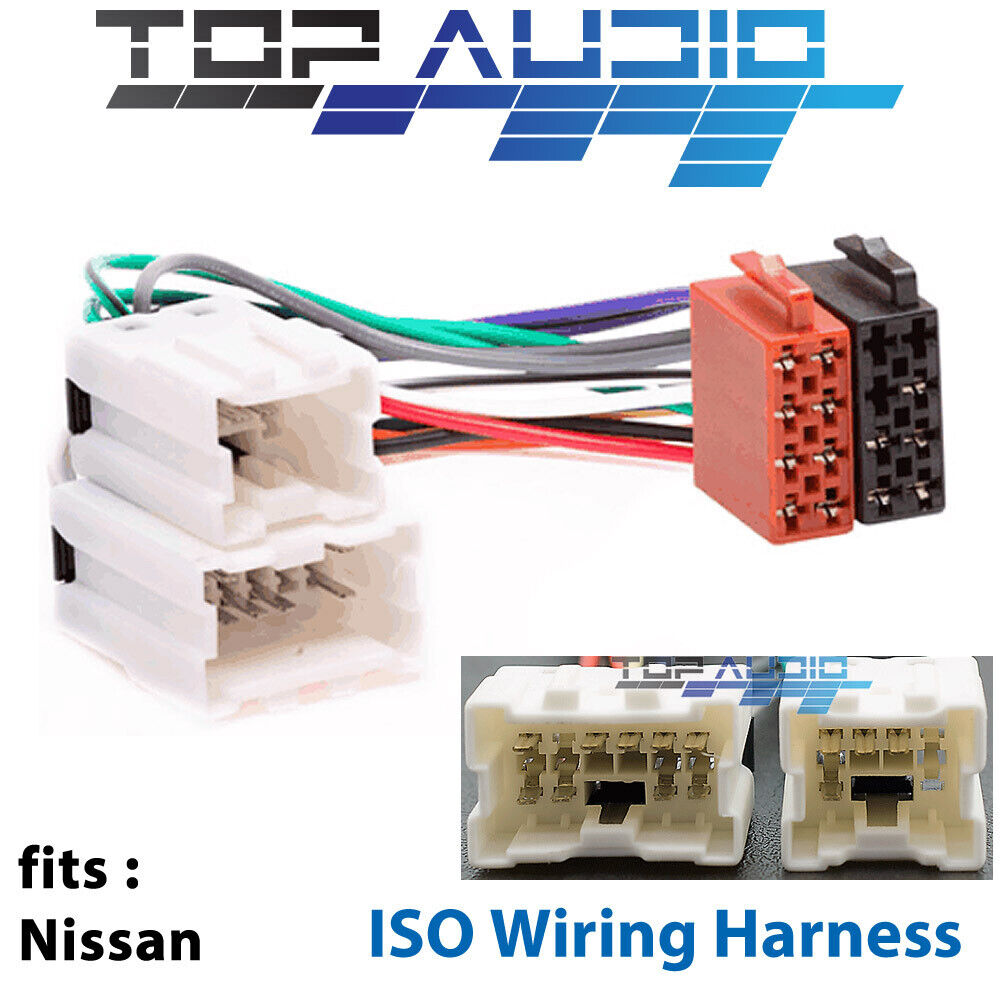 medium resolution of details about fit nissan pathfinder skyline 350z 300zx iso wiring harness adaptor connector