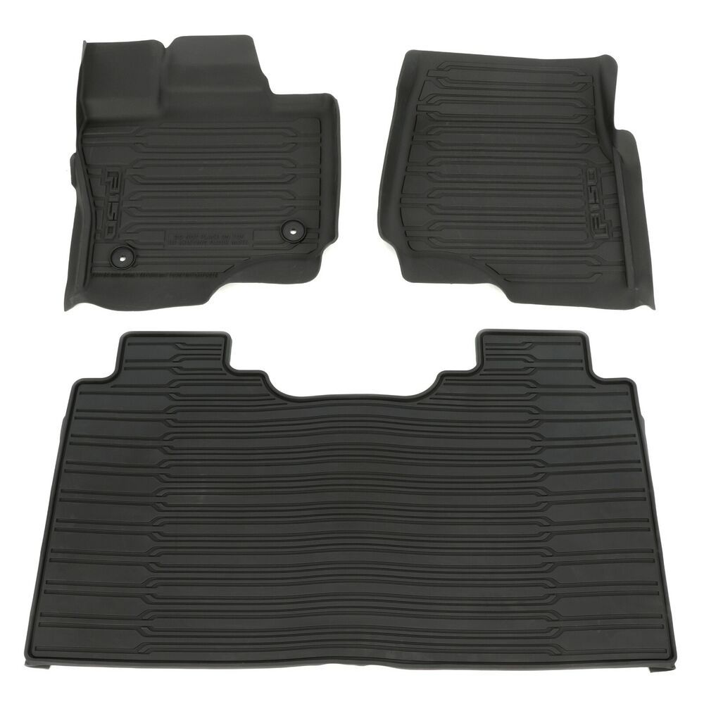 2015 Ford F150 SuperCrew Cab All Weather Rubber Floor