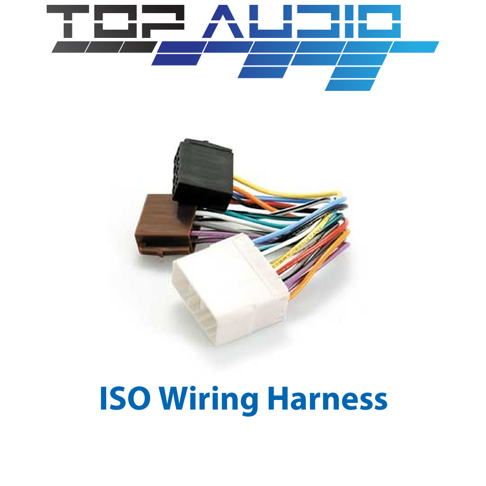 hight resolution of details about 81 iso wiring harness adaptor cable connector lead loom plug wire