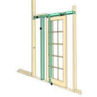 Coburn H30 Hideaway Sliding Pocket Door Frame Kit Internal ...