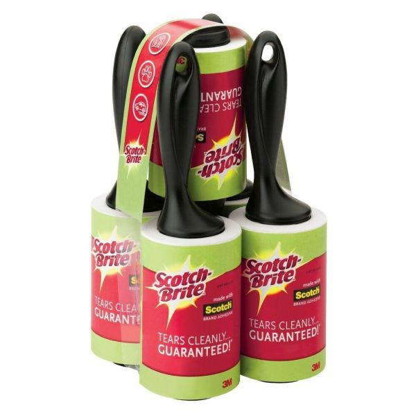 5 X 95 Sheets Roll 3m Scotch Brite 475 Lint Roller Remover