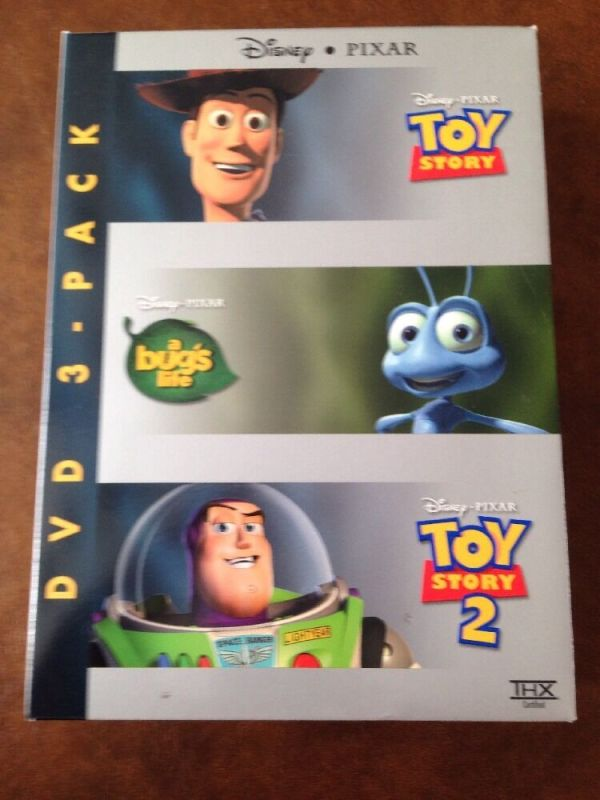 Pixar 15th Anniversary 3 Pack A Bug39s LifeToy StoryToy