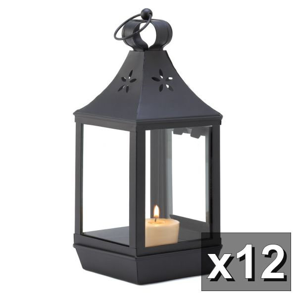Wedding Simple Colonial 12 Carriage Style Candle Lantern High