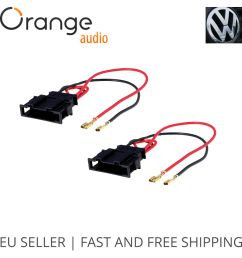 details about radio stereo speaker wire harness adapter plug for vw seat passat golf polo [ 1000 x 1000 Pixel ]