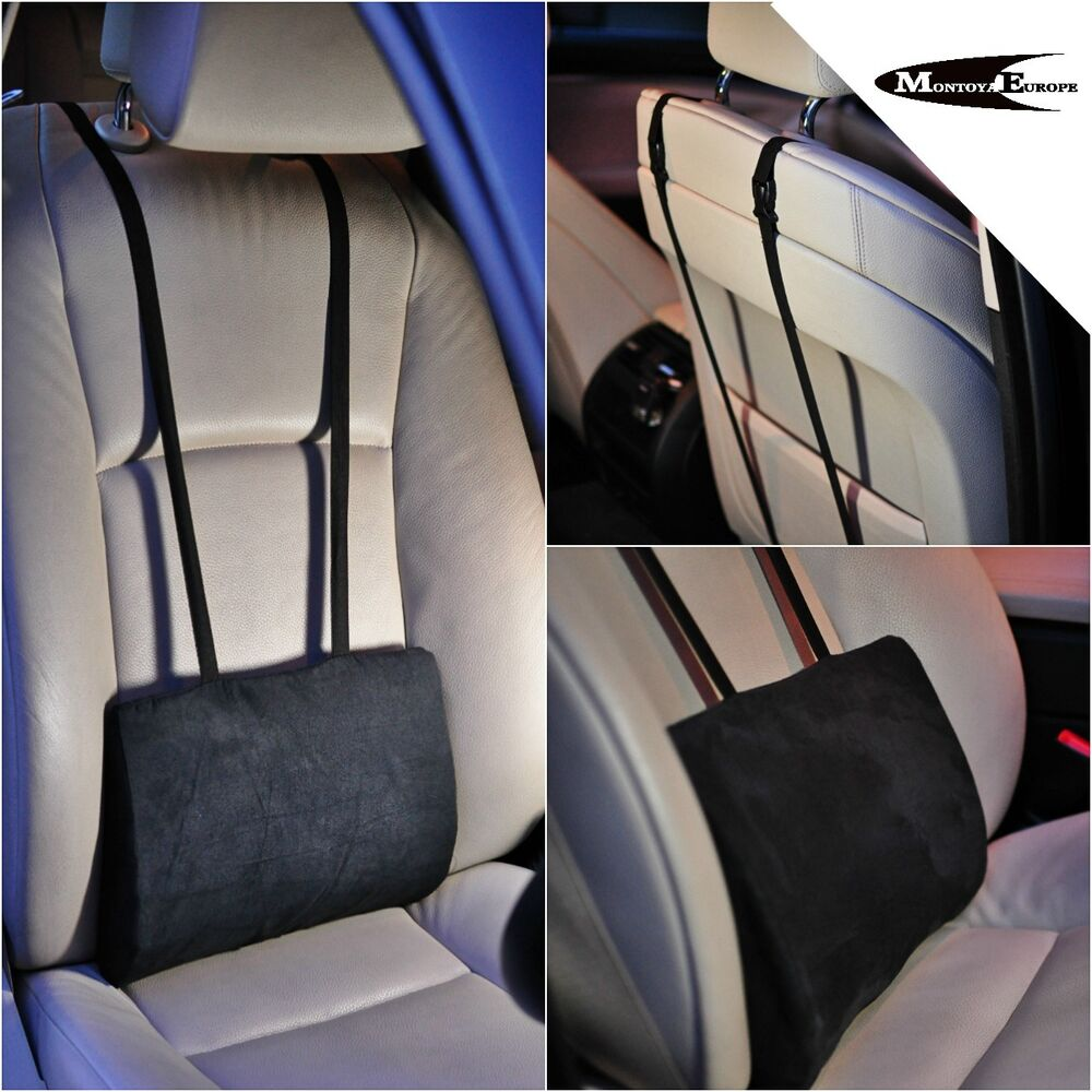 office chair lumbar support mesh bernhardt leather lower back cushion pillow for car seat | ebay