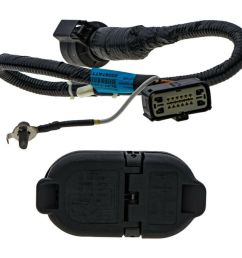 ford oem trailer wiring harness wiring library2009 2014 ford f 150 trailer tow hitch bar wire [ 1000 x 1000 Pixel ]