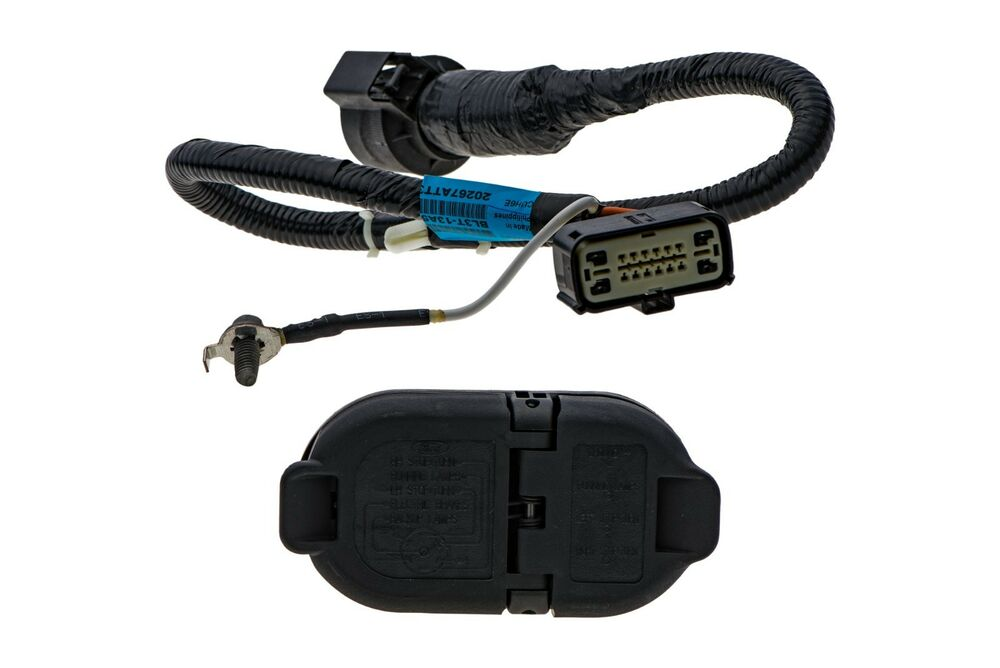 hight resolution of ford oem trailer wiring harness wiring library2009 2014 ford f 150 trailer tow hitch bar wire