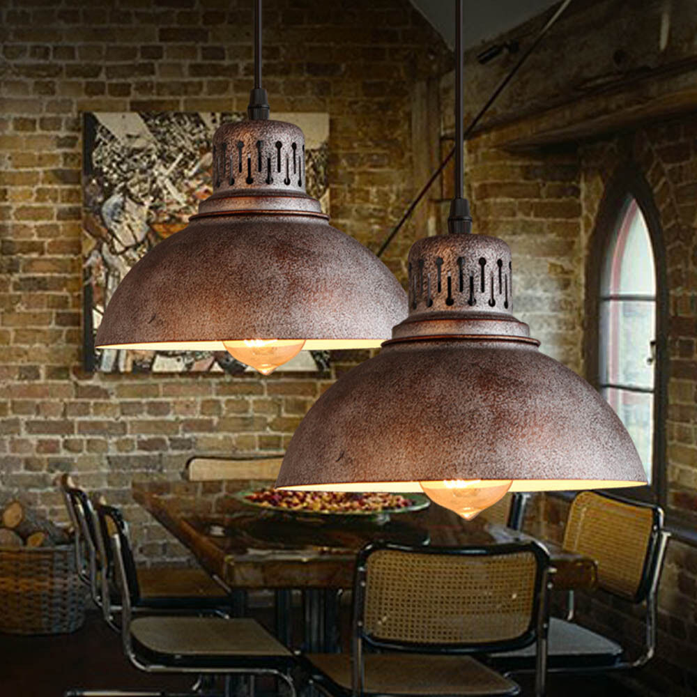 Industrial Chandelier Light Lamp Shade Sconces Iron