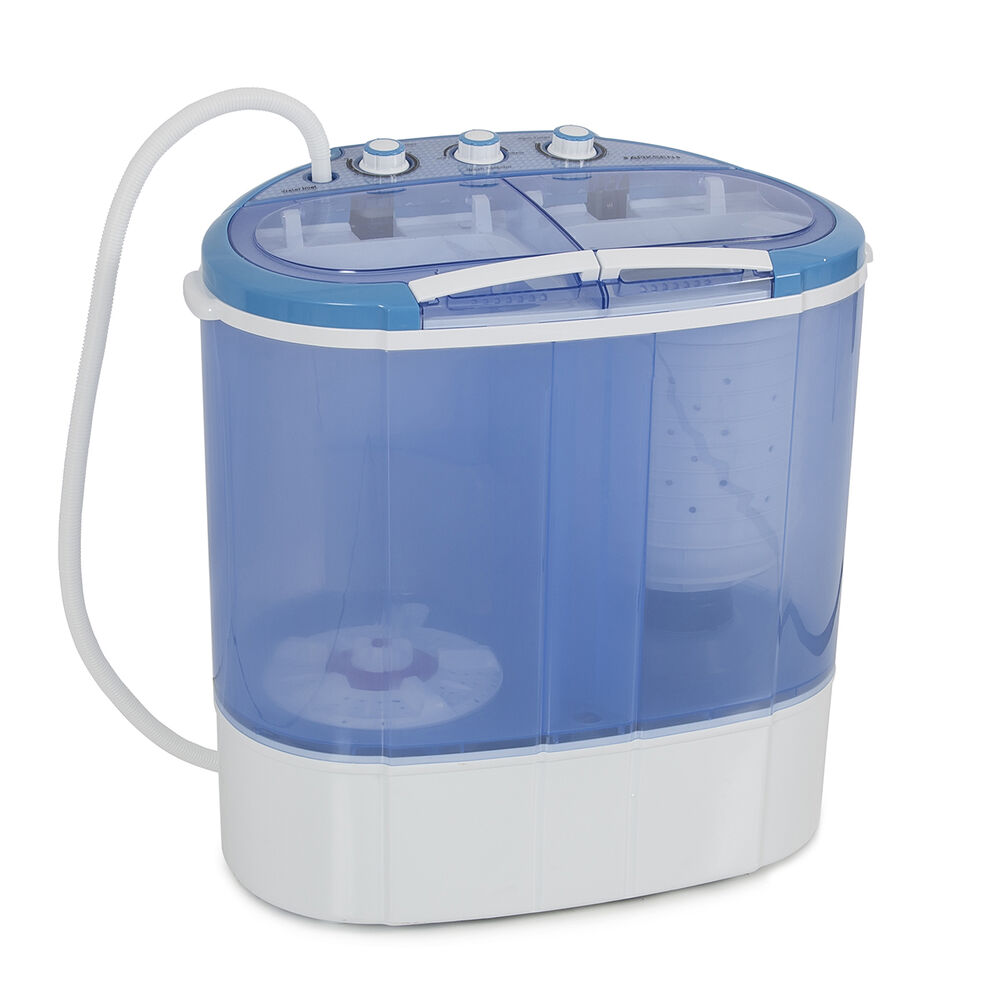 Portable Mini Dual Compact Washing Machine Washer Spin
