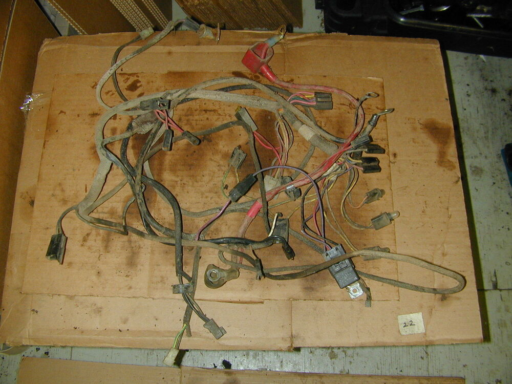 John Deere Gt235 Riding Lawn Mower Wiring Harness Ebay
