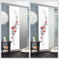 Amarillo sliding curtain surface panel room divider ...