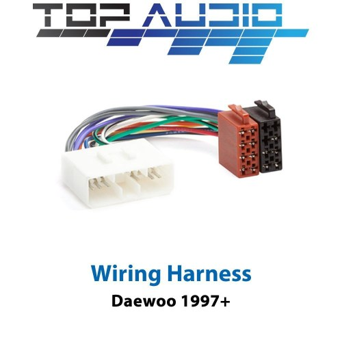 small resolution of details about daewoo iso wiring harness stereo radio plug lead wire loom connector adaptor
