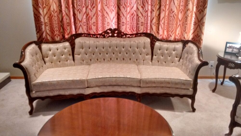 sofa tables for living room simple and elegant false ceiling designs french provincial reproduction chair set by ...