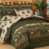 Rocky Mountain Elk 8 Pc Full Size Comforter Bedding Set ...