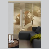 Shells Sliding Curtain Surface Panel Room Divider Curtain ...