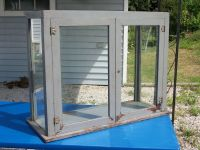 Antique Country General Store Display Case Vtg Counter