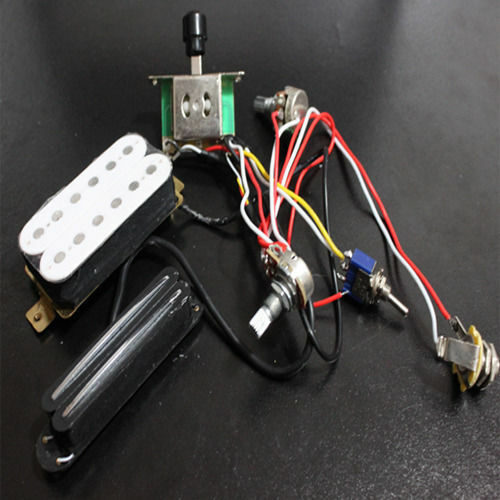 Electric Guitar Wiring Issues