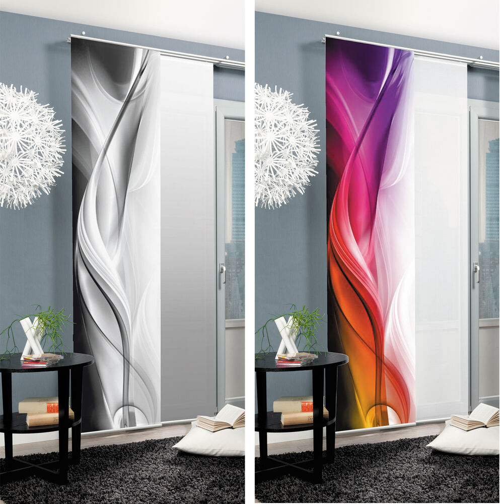 itm halifax sliding curtain panel curtain room divider - Portable Room Dividers