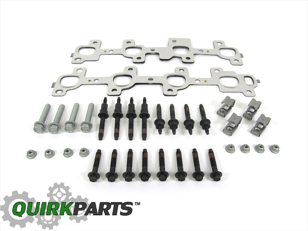 DODGE RAM 1500 2500 3500 EXHAUST MANIFOLD KIT GASKET STUDS