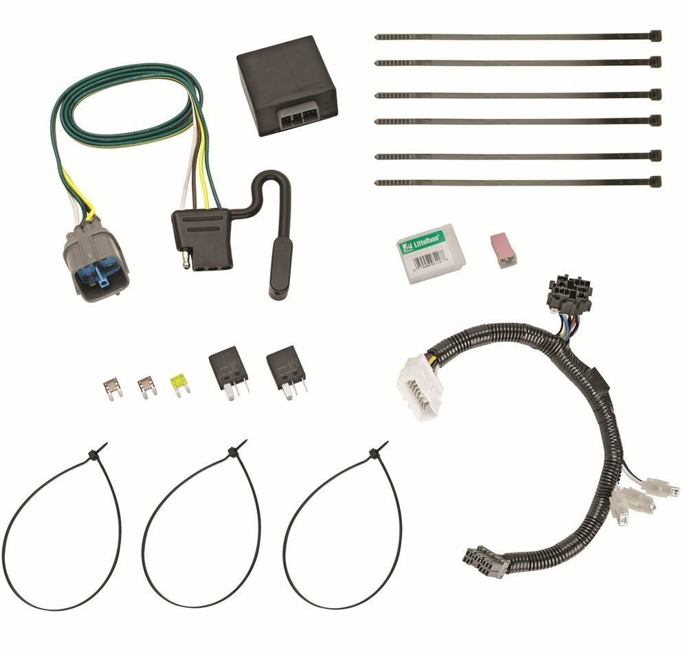 hight resolution of details about trailer wiring harness kit for 12 15 honda pilot all styles plug play t one