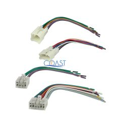 toyotum wiring harnes car stereo radio wire wiring harness set for 1987 2007 [ 1000 x 1000 Pixel ]