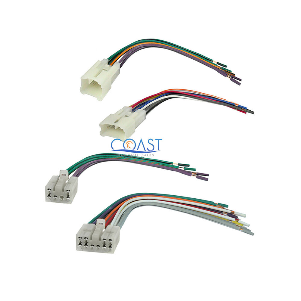 hight resolution of  toyotum wiring harnes car stereo radio wire wiring harness set for 1987 2007