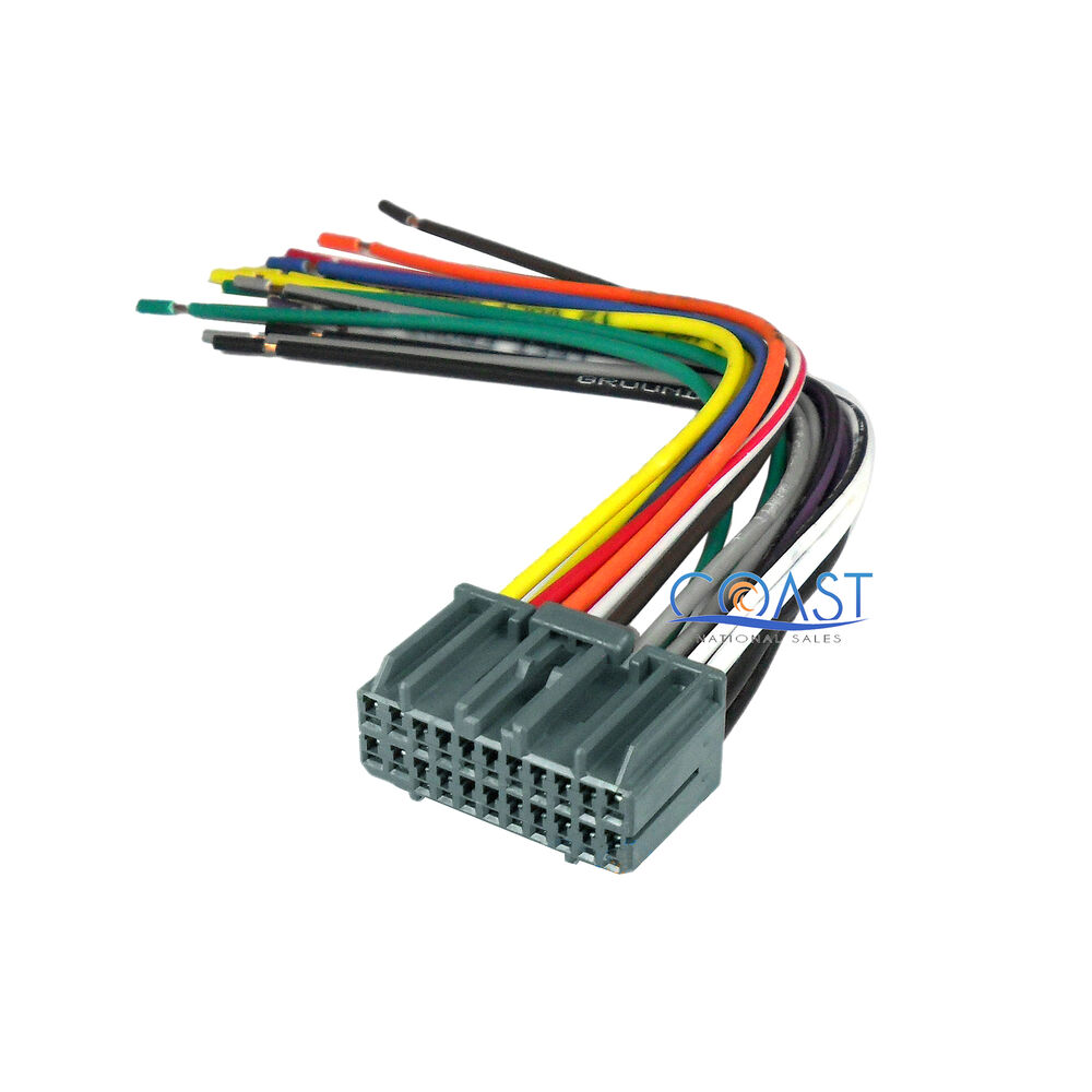 Car Radio Wire Harness For Chrysler Dodge Jeep Wiring Harness Wire
