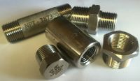 "NPT STAINLESS STEEL 316 PIPE FITTINGS 1/8"" - 1"" 3K RATED ..."