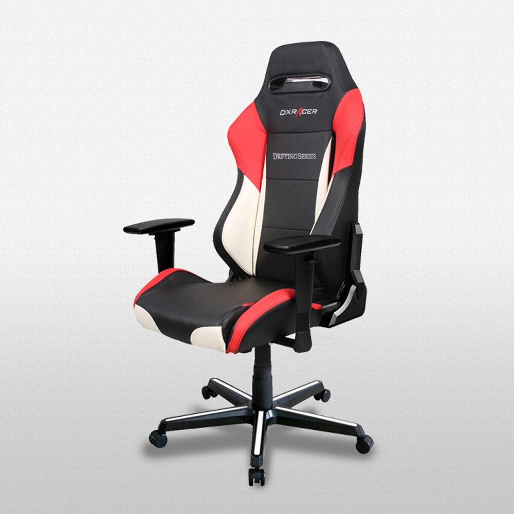 Dxr Chair Dxracer Office Chairs Oh Dm61 Nwr Game Chair Racing Seats Computer Chair Gaming 798993476772 Ebay