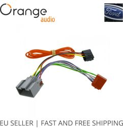 details about wiring harness adapter for ford fiesta 2008 2010 iso stereo plug adaptor [ 1000 x 1000 Pixel ]