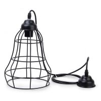 Edison Vintage Metal Cage Wire Ceiling Pendant Light Lamp