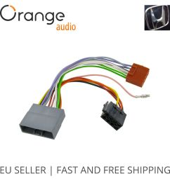 details about wiring harness adapter for honda fit 2007 iso stereo plug adaptor [ 1000 x 1000 Pixel ]