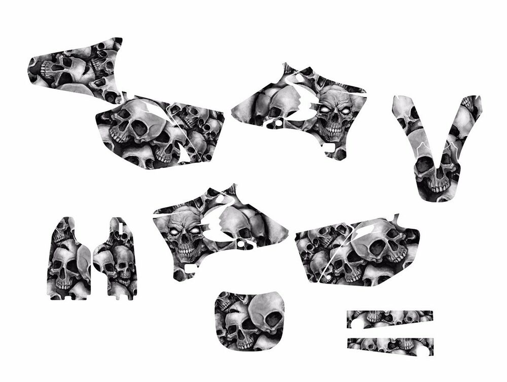 2003 2004 2005 YZ250F YZ450F Graphics decal sticker kit