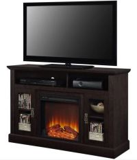 Electric Fireplace TV Stand Media Console Wood ...