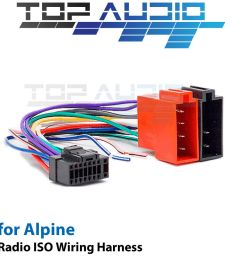 alpine cde 150e iso wiring harness cable adaptor connector lead loom plug ebay [ 1000 x 1000 Pixel ]