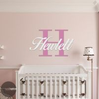 Personalized Family Name Monogram With Initial (2 Color ...