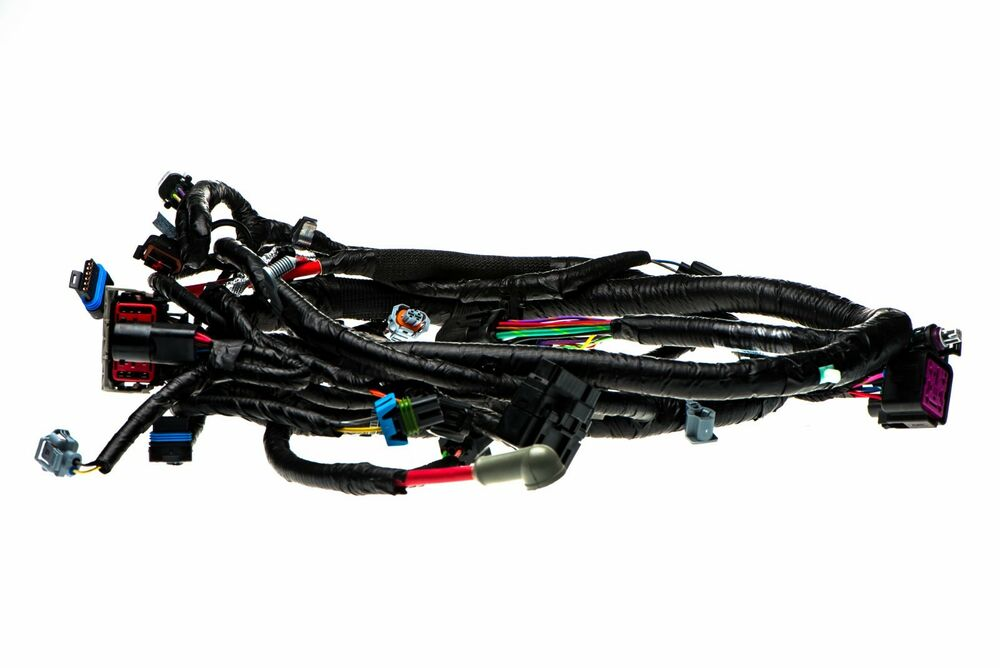 medium resolution of 04 ford f250 f350 super duty 04 05 excursion 6 0l diesel engine wire harness oem ebay